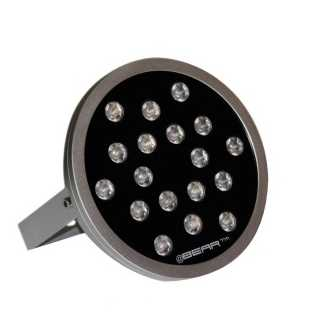 Projecteur wall-washer LED Lumenco série RT 50W - 4 en 1