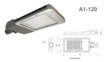 Lumenco Series A1 LED Streetlight 133W