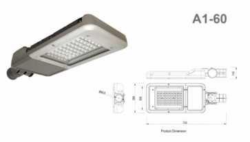 Lumenco Series A1 LED Streetlight 66W