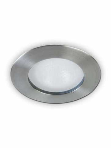 evolution led a2450s recessed light par20 brushed nickel