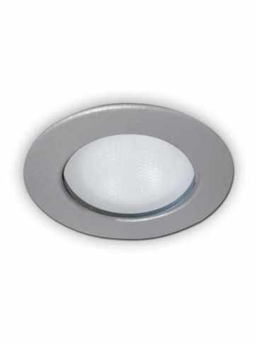 evolution led a2450s recessed light par20 metallic grey
