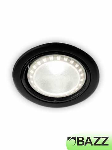 bazz 410 series 11w led recessed exterior light black 410l11b