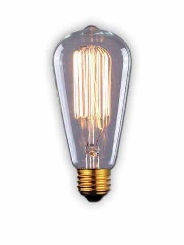 canarm st60 60w vintage bulb model 1 b-st64-17c