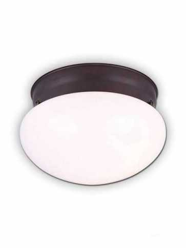 canarm flush mount 1 light oil rubbed bronze fixture ifm137orb
