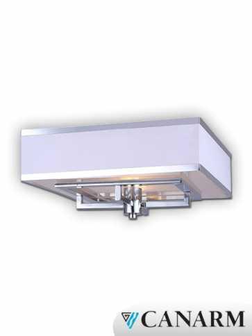 Canarm Vienna 2 Light Chrome Fixture IFM577A14CH (fixturewshade)
