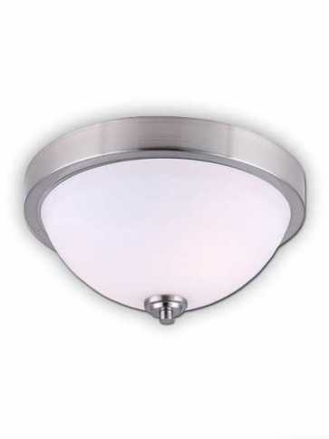 Canarm River 2 Light Brushed Nickel Fixture IFM578A13BN (fixturewshade)