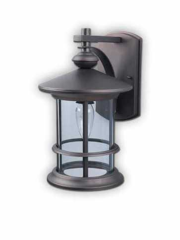 canarm treehouse  1 light oil rubbed bronze wall light iol124orb