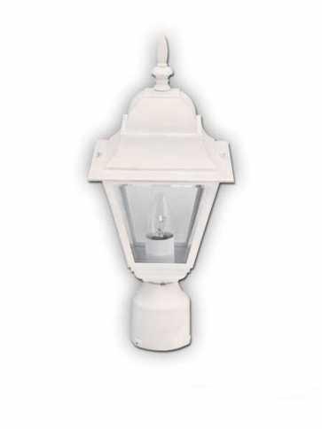canarm outdoor 1 light white post light iol1313