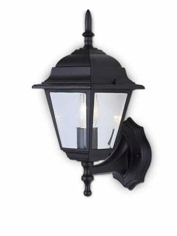 Canarm Outdoor 1 Light Black Wall Light IOL1 BK