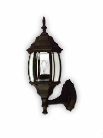 Canarm Outdoor 1 Light Black Wall Light IOL5 BK (fixturewshade)
