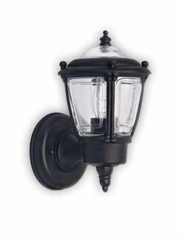 Canarm Outdoor 1 Light Black Wall Light IOL7 BK (fixturewshade)