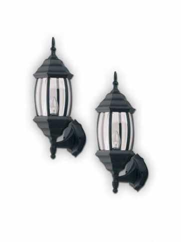 Canarm Outdoor Light Black Wall Light IOL73T BK (fixturewshade)
