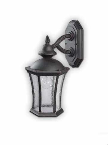 Canarm Outdoor 1 Light Burnished Bronze Wall Light IOL90 BBZ (fixturewshade)