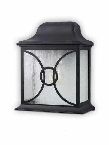 Canarm Outdoor 1 Light Black Wall Light IOL92 BK (fixturewshade)