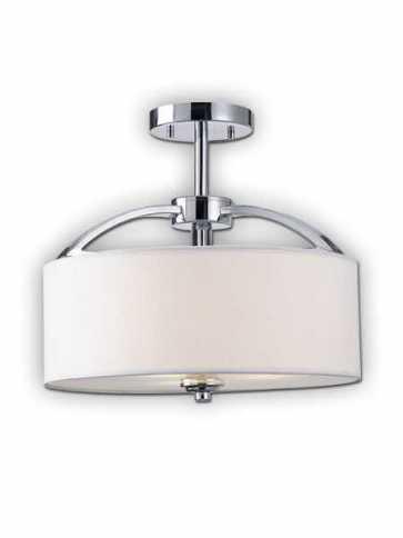 Canarm Milano 3 Light Chrome Semi-Flush ISF425A03CH