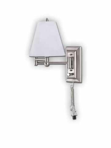 Canarm 1 Light Brushed Pewter Wall Light IWF1D BPT (fixturewshade)