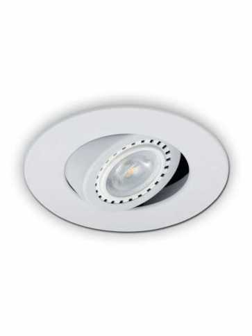 evolution led d2000 recessed light par20 matte white