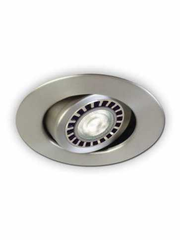 Contrast Lighting D2000-13 Evolution LED Satin Nickel Light Trim (recessed_light_trim)