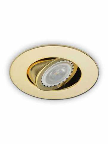 Contrast Lighting D2000-03 Evolution LED Gold Plated 24K Light Trim (recessed_light_trim)