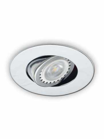 Contrast Lighting D2000-04 Evolution LED Chrome Light Trim (recessed_light_trim)