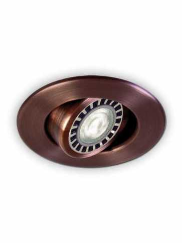 evolution led d2000 recessed light par20 antique copper