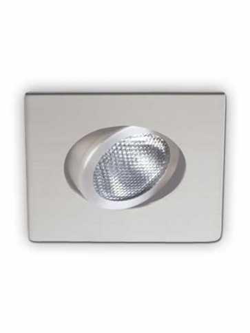 Garniture Éclairage Contraste D2100-11 Evolution LED Blanc Mat