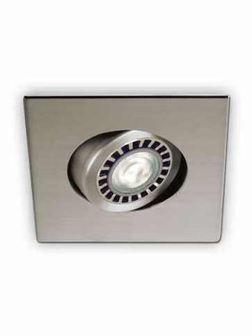 evolution led d2100 recessed light par20 satin nickel