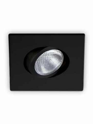 evolution led d2100 recessed light par20 black