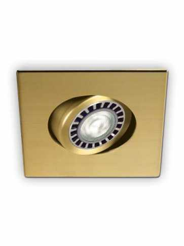 evolution led d2100 recessed light par20 gold plated 24k