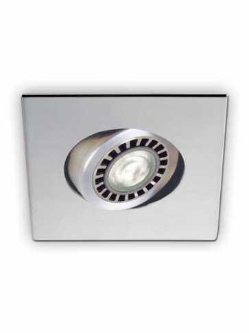 Contrast Lighting D2100-04 Evolution LED Chrome Light Trim (recessed_light_trim)