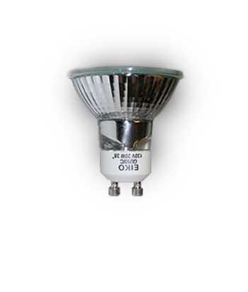 Eiko GU10 Halogen 50W Bulb