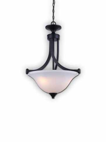 rue ra 3 lt chain bowl chandelier ich587a03ra17