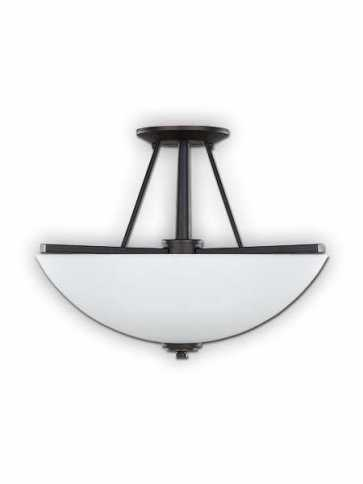 new yorker rubbed oil bronze semi flush isf256a03orb