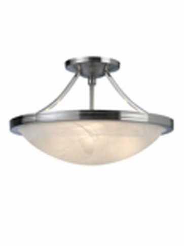 Canarm Alabaster Semi-Flush ISF41BN