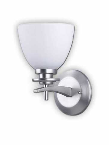 new yorker brushed pewter wall light iwf256a01bpt