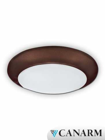 "Canarm 6"" LED Disk Surface Mounted 15W Bronze LED-SM6D-BZ-C"