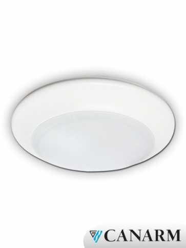 "Canarm 6"" LED Low Profile Ceiling Light 15W White LED-SM6D-WT-C"
