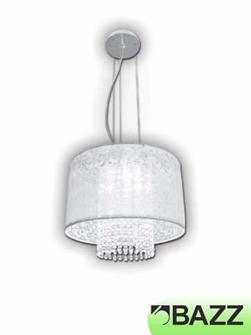 bazz glam chrome suspended fixture model 3 lu3815tc