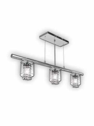 bazz glam 3-light chrome chandelier model 1 lu3823cb