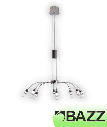 Bazz Lume Chrome Chandelier Model 1 LU8008LE