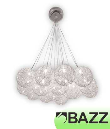 Bazz Lume Chrome Suspended Fixture Model 5 P12421CH