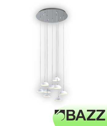 Bazz Lume Chrome Suspended Fixture Model 8 P140157W