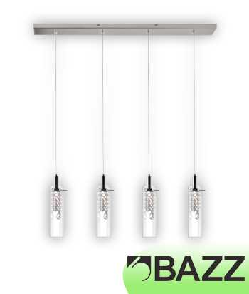 Bazz Glam Chrome Suspended Fixture Model 7 P14531CR