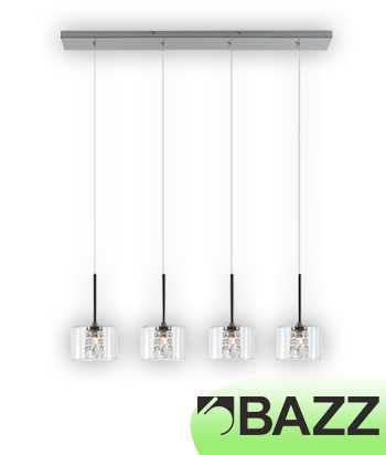 Bazz Glam Chrome Suspended Fixture Model 8 P14907CR