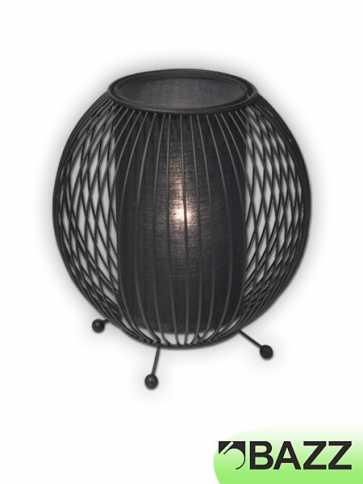 bazz vibe black table lamp model 5 t12243k