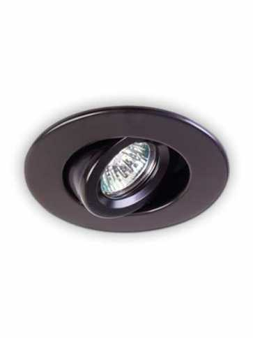 evolution led t2000 recessed light par16 black