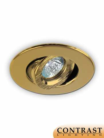 Contrast Lighting T2000-03 Evolution LED Gold Plated 24K Light Trim (recessed_light_trim)