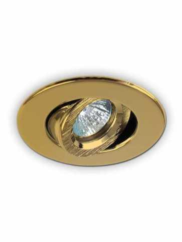 evolution led t2000 recessed light par16 gold plated 24k