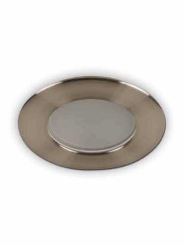 priori x3501 led recessed light gu10 satin nickel ic
