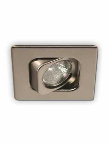 priori x3502 led recessed light gu10 satin nickel ic